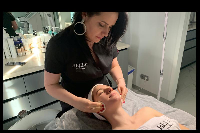 Firmowy rytuał twarzy Belle Spa & Clinic